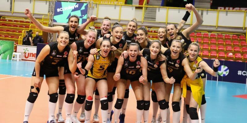 VakıfBank 9. kez finalde