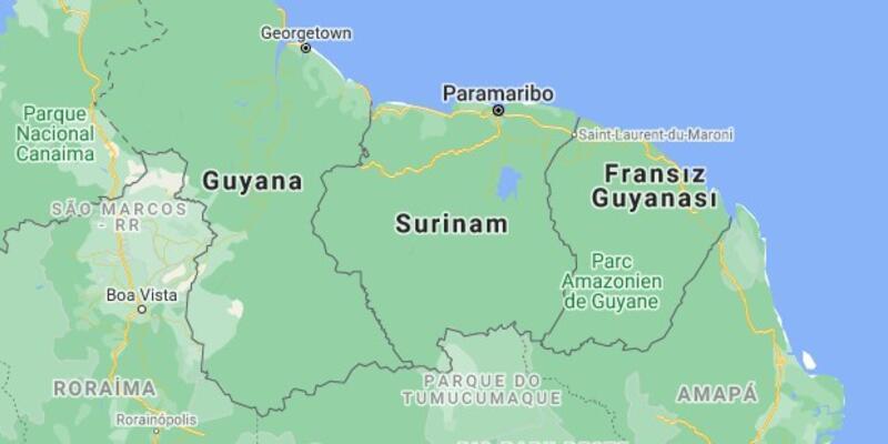 Surinam nerede, nüfusu ne kadar? Surinam hangi kıtada ve bölgede?