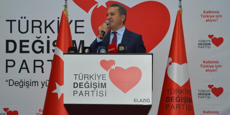 TDP Genel Başkanı Sarıgül, Elazığ'da