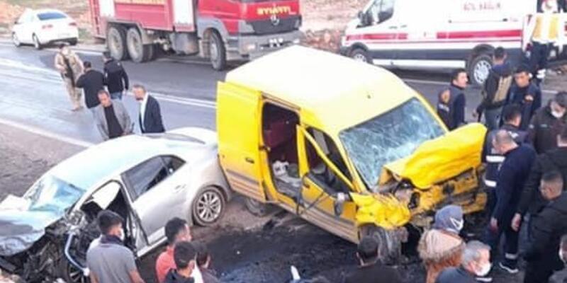 Şırnak'ta feci kaza: Ölüler ve yaralılar var