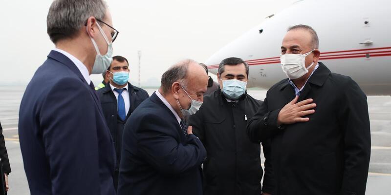 Dışişleri Bakanı Mevlüt Çavuşoğlu Tacikistan'da