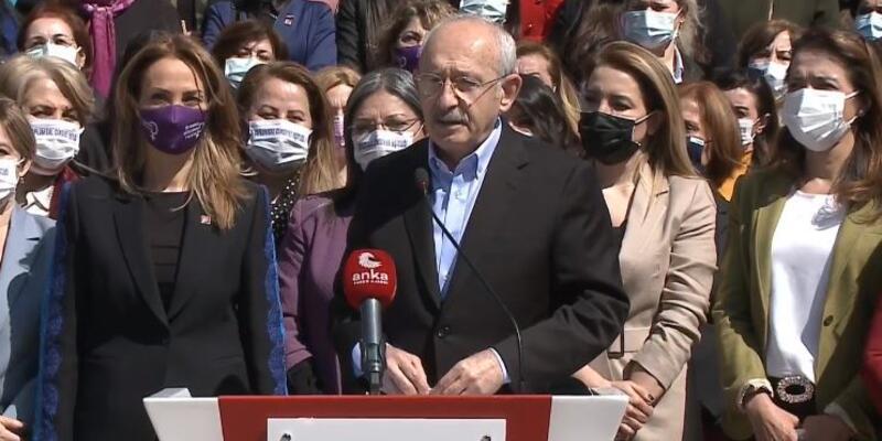 Kılıçdaroğlu: Kadınların mücadelesi önemlidir, değerlidir