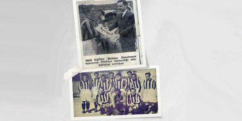 Son dakika... Ankara Demirspor 1947'deki şampiyonluk için TFF'ye başvurdu