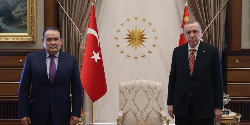 Cumhurbaşkanı Erdoğan, Türk Konseyi Genel Sekreteri'ni kabul etti