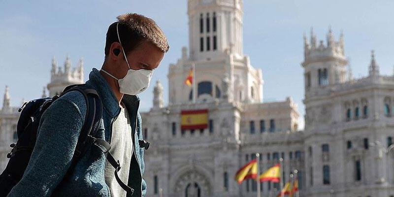 İspanya'da Kovid-19'dan son 24 saatte 106 kişi hayatını kaybetti