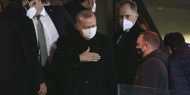 Cumhurbaşkanı Erdoğan Milli Takım'ı yalnız bırakmadı