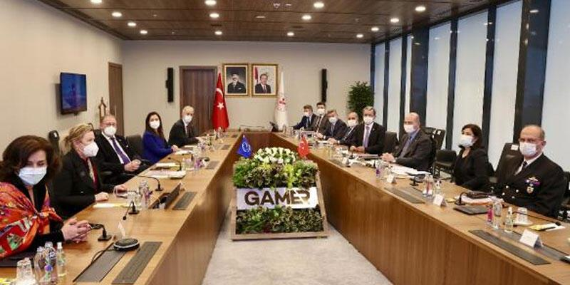 Bakan Soylu, AKMP Başkanı Daems ile bir araya geldi