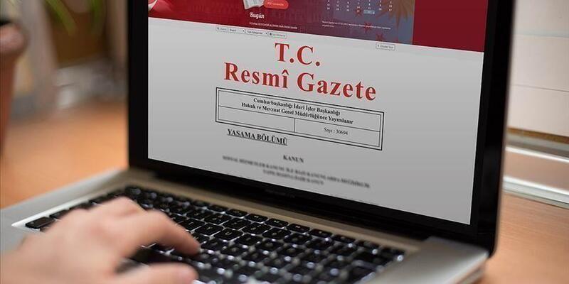 Milletlerarası anlaşma Resmi Gazete'de yayımlandı