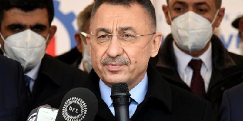 Cumhurbaşkanı Yardımcısı Oktay: Türkiye olarak üreten bir Kıbrıs istiyoruz