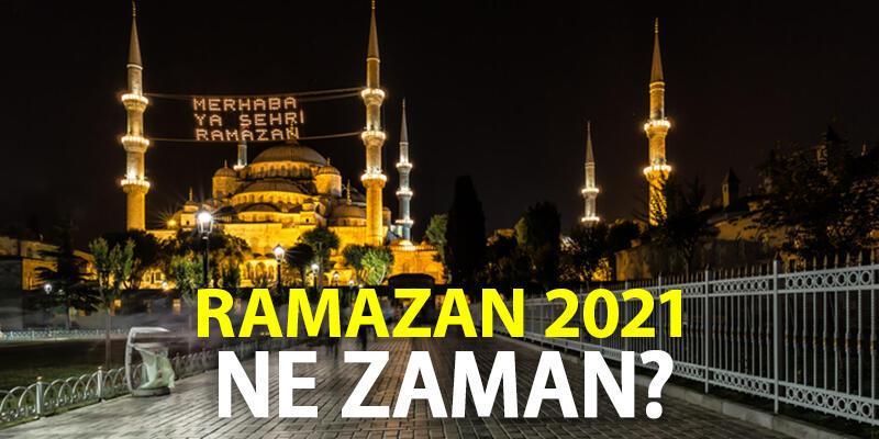 Ramazan ne zaman, hangi gün? Diyanet 2021 Ramazan başlangıcı ilk sahur ve ilk iftar ayın kaçında?