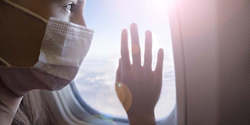 Uçakta pencereden uzak durun