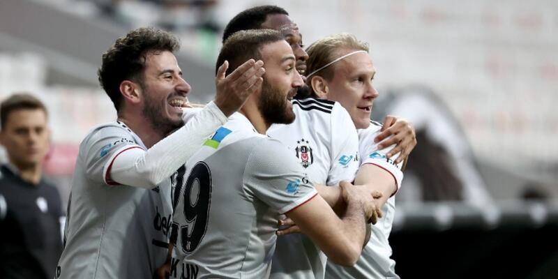 Beşiktaş Alanya'yı rahat geçti