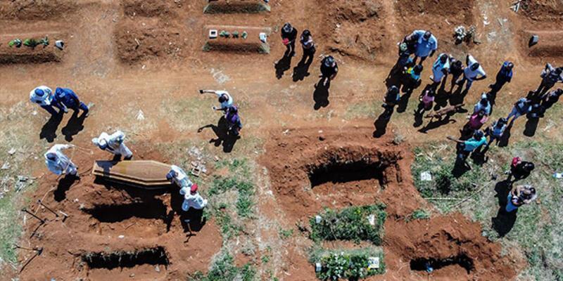 Brezilya'da kabus! 24 saatte 3 bin 693 kişi hayatını kaybetti