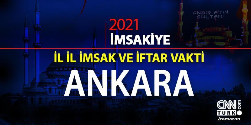 Ankara 15 Nisan sahur vakti saat kaçta? Ankara imsakiye 2021... Bugün  Ankara sahur saati ne zaman?