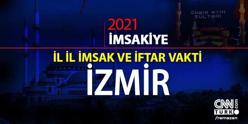 İzmir imsakiye 2021… 15 Nisan 2021 İzmir sahur vakti saat kaçta? Bugün İzmir sahur vakti, saati ne zaman?