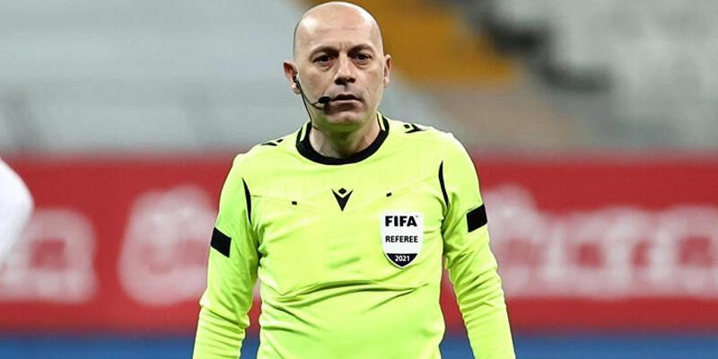 Son dakika... Slavia Prag-Arsenal maçının hakemi Cüneyt Çakır