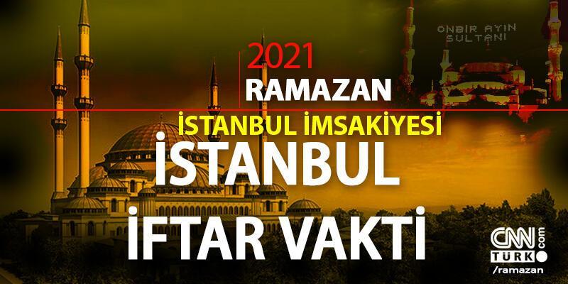 İstanbul iftar vakti (saati) 16 Nisan 2021... Bugün İstanbul için iftar saati kaçta? İstanbul Ramazan imsakiyesi 2021