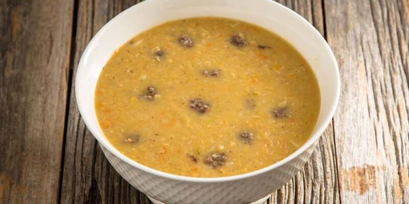 (13.04.2021) Günün iftar menüsü; Süleymaniye Çorbası, Püreli Patlıcan Kebabı ve Revani Tarifi