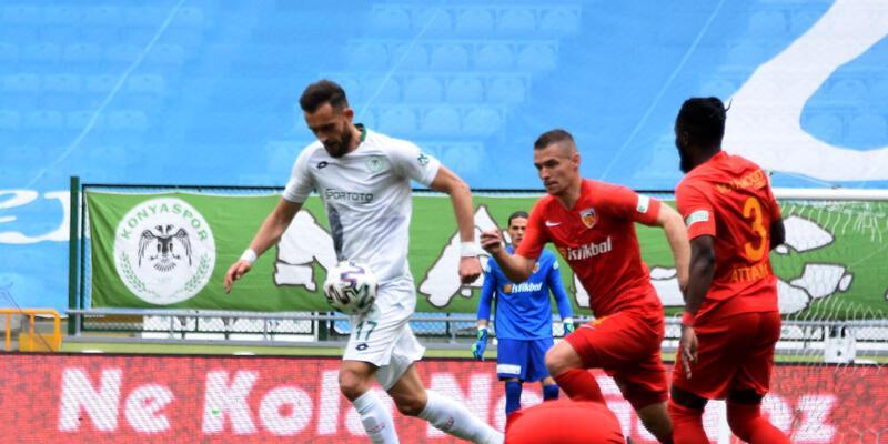 Konyaspor-Kayserispor: 0-0