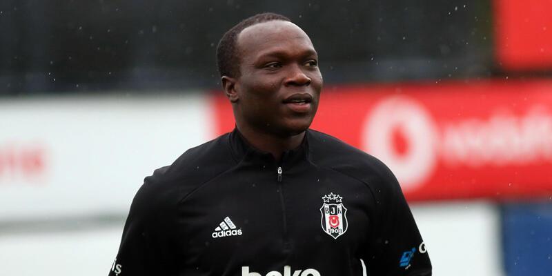 Son dakika... Beşiktaş'ta Aboubakar çalışmaya katıldı