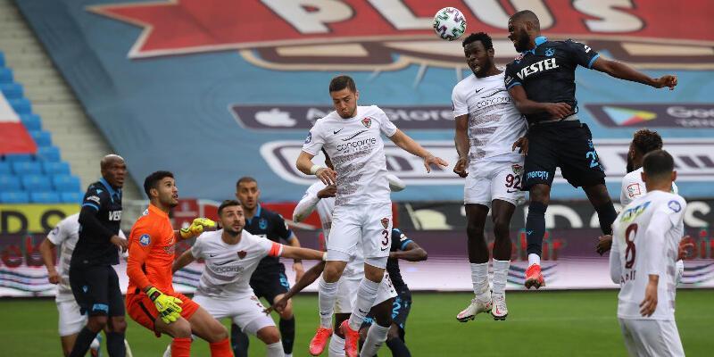 Trabzonspor - Hatayspor: 1-1