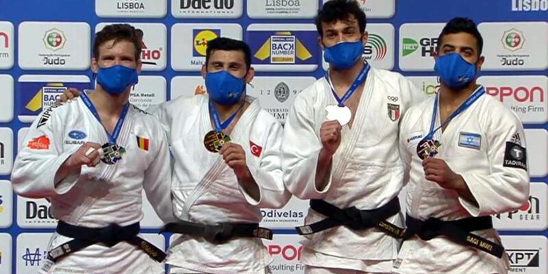 Son dakika... Milli judocu Vedat Albayrak, Avrupa şampiyonu oldu