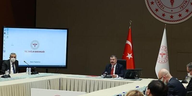 SON DAKİKA: Bilim Kurulu toplantısı sonrası Sağlık Bakanı Fahrettin Koca'dan açıklama