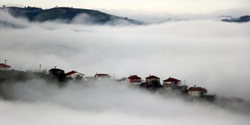 Zonguldak'ta sis yaşamı zorlaştırdı