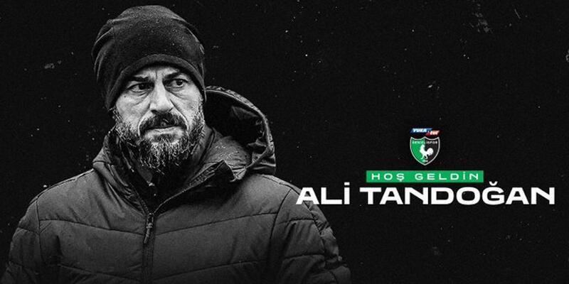 Son dakika... Denizlispor'da Ali Tandoğan dönemi