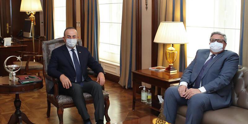 Son dakika... Bakan Çavuşoğlu, Rusya'nın Ankara Büyükelçisi Yerhov ile görüştü