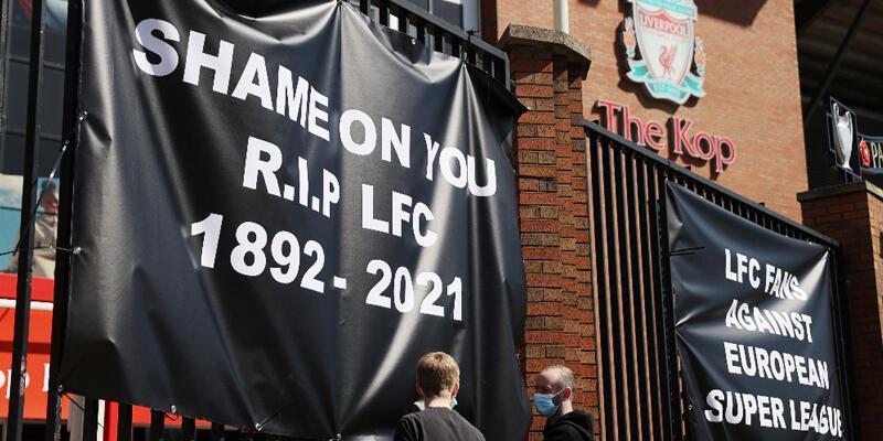 Son dakika... Avrupa Süper Ligi'ne katılan Liverpool'a taraftarından büyük tepki!