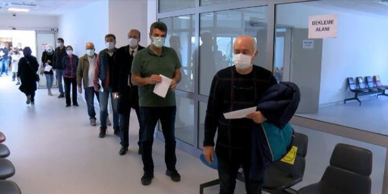 Ankara'da 55 yaş üstü aşı yoğunluğu