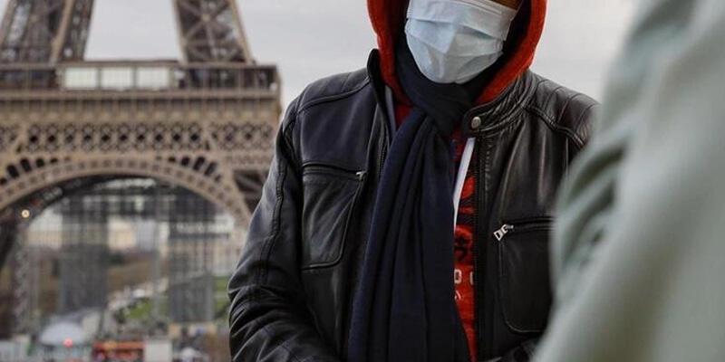 Fransa'da son 24 saatte 43 bin 98 Kovid-19 vakası görüldü