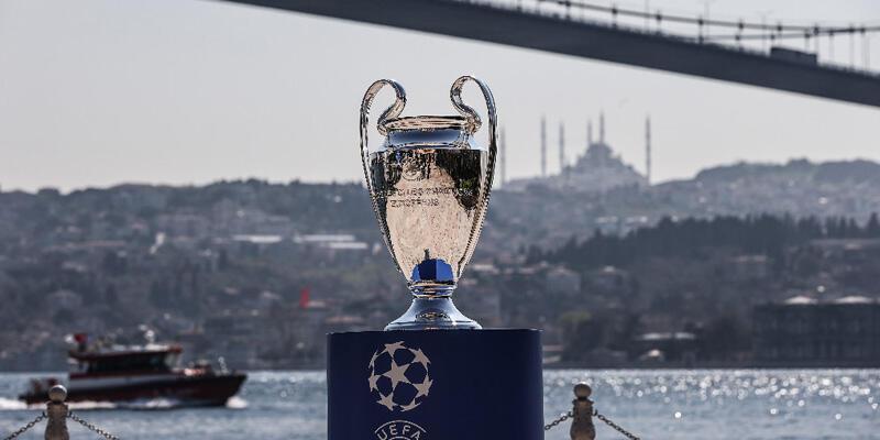 Son dakika... UEFA Şampiyonlar Ligi Kupası İstanbul Boğazı'yla buluştu