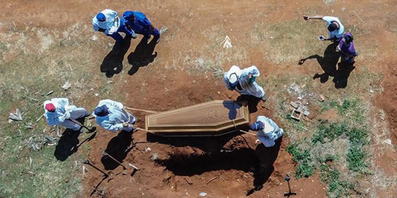 Brezilya'da son 24 saatte koronadan 3 bin 472 kişi hayatını kaybetti