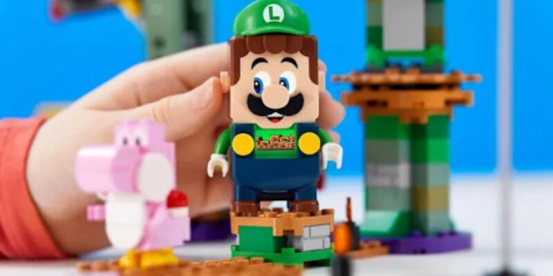Lego, Luigi seti ekliyor
