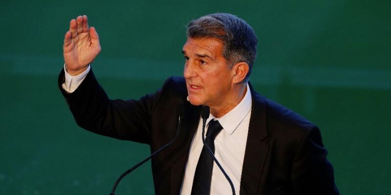 Barcelona Başkanı Joan Laporta: Avrupa Süper Ligi bir zorunluluk