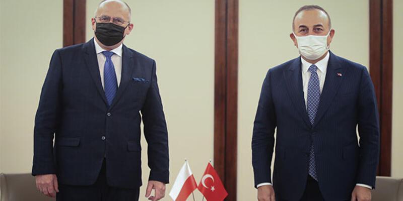 Dışişleri Bakanı Çavuşoğlu, Polonyalı mevkidaşı Rau ile görüştü