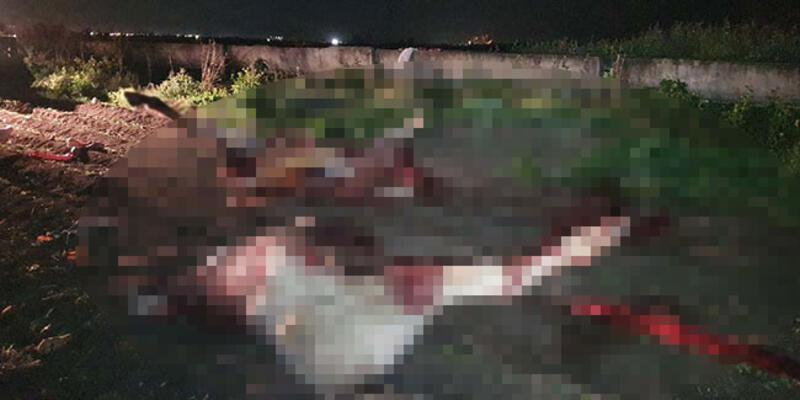 Adana'da kan donduran görüntü! Görür görmez polisi aradılar