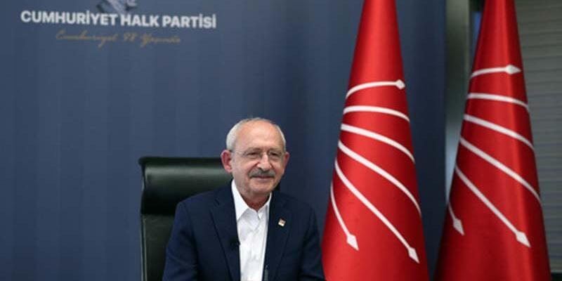 Kılıçdaroğlu, çevrim içi programda çocuklarla buluştu