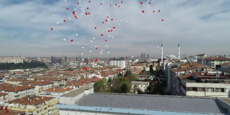 101 okuldan 101 balon gökyüzüne bırakıldı