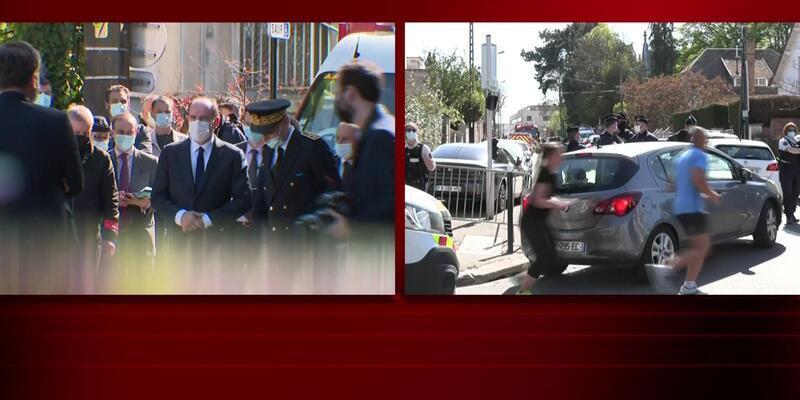 Fransa'da polise bıçaklı saldırı! 1 polis öldü