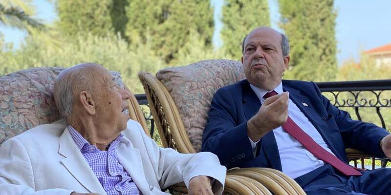 KKTC Cumhurbaşkanı Tatar'ın babası Rüstem Tatar hayatını kaybetti