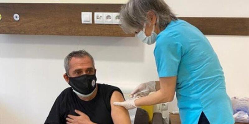Yavuz Bingöl koronavirüs aşısı oldu