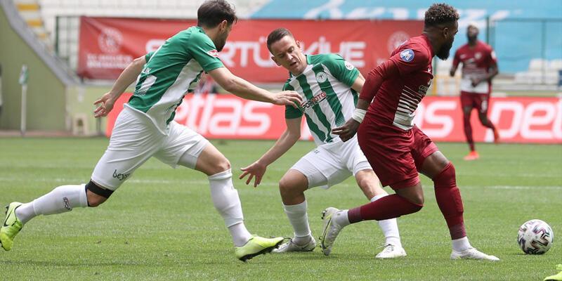 Konyaspor - Hatayspor: 0-0