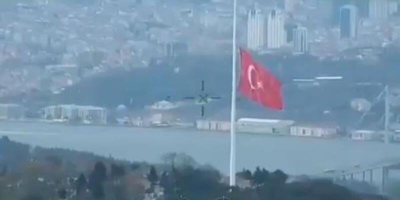 Bakan Soylu'dan 'en büyük Türk bayrağı' paylaşımı
