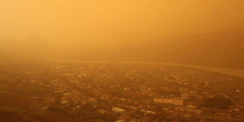 Meteorolojiden 3 il için toz taşınımı uyarısı