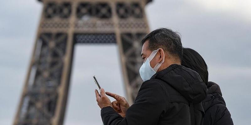Fransa'da son 24 saatte 32 bin 633 Kovid-19 vakası tespit edildi