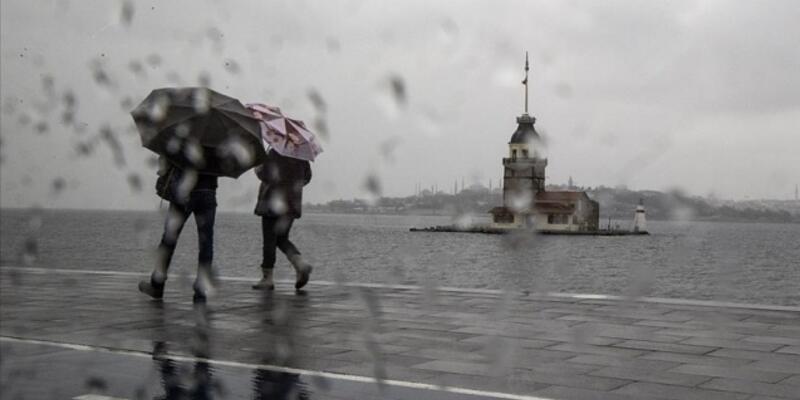 Meteoroloji'den İstanbul için sağanak uyarısı!