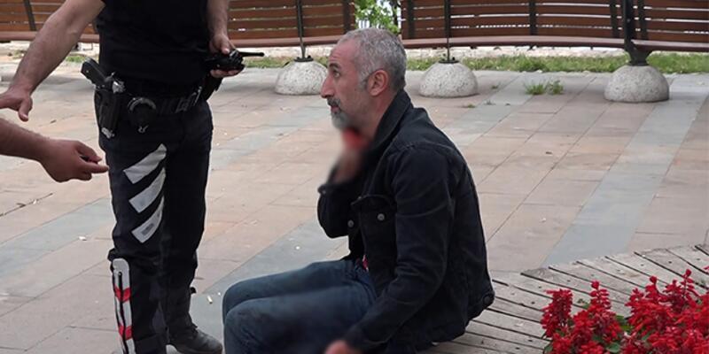 Şoke eden sözler! Polis arama yapmak isteyince boğazını kesti